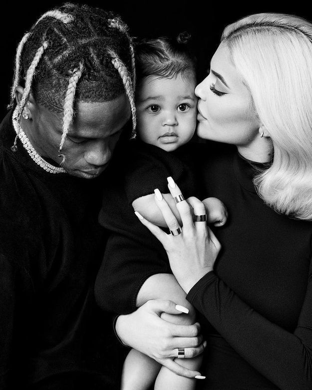 Le Thanksgiving de Kylie Jenner, Travis Scott et leur fille Stormi qui a bien grandi
