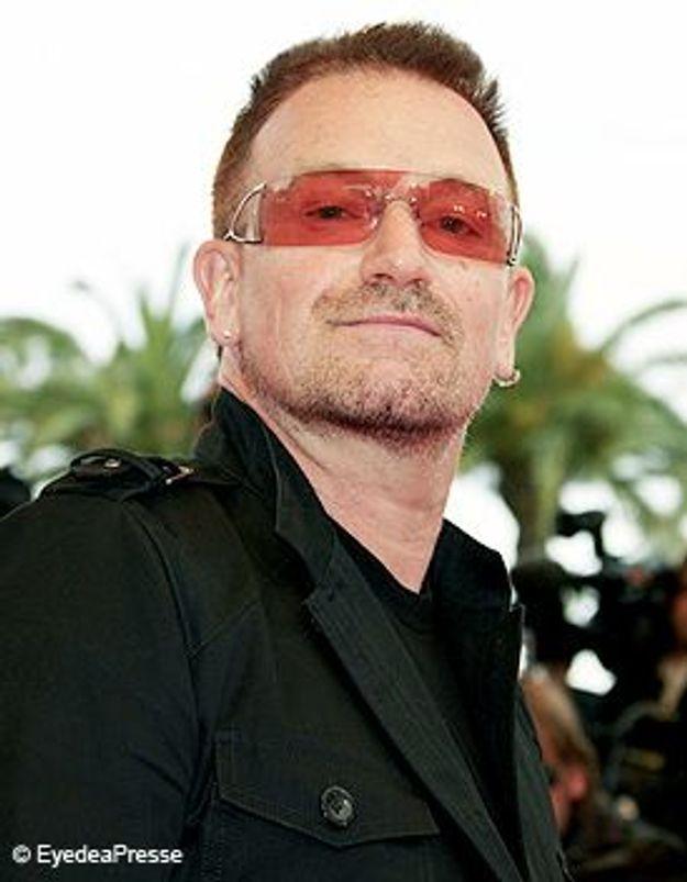 Bono, élu homme de la Paix 2008