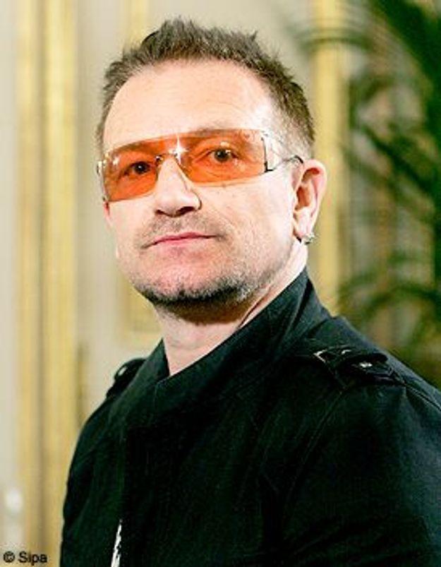 Bono : parrain des jumeaux d'Angelina Jolie et Brad Pitt ?