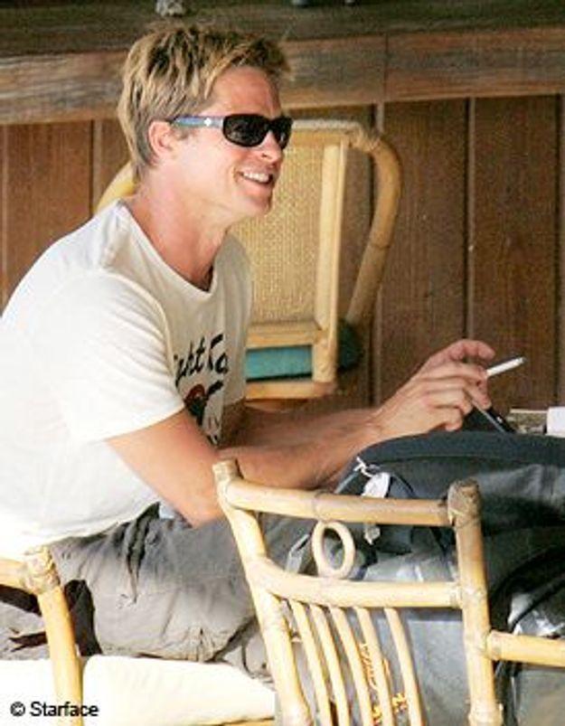 Brad Pitt arrête de fumer pour ses enfants