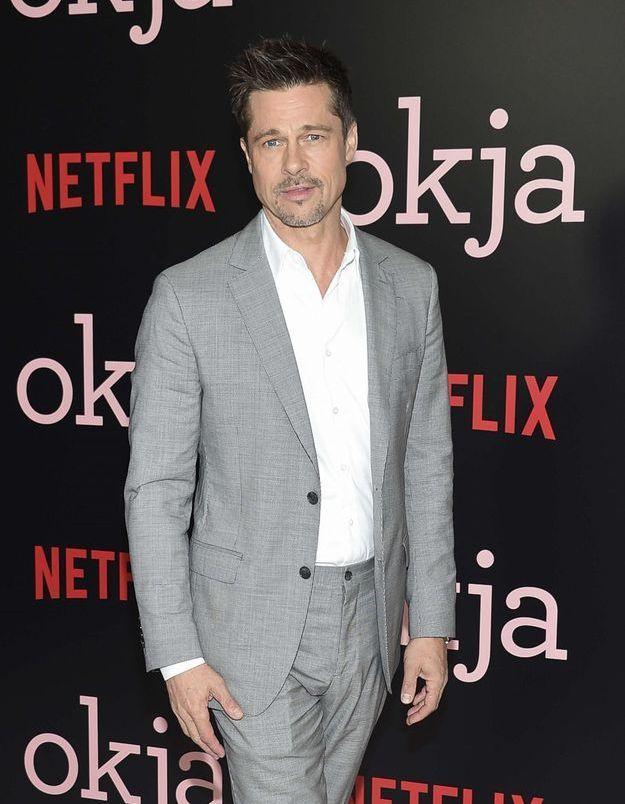 Brad Pitt craque pour une actrice qui ressemble beaucoup à Angelina Jolie