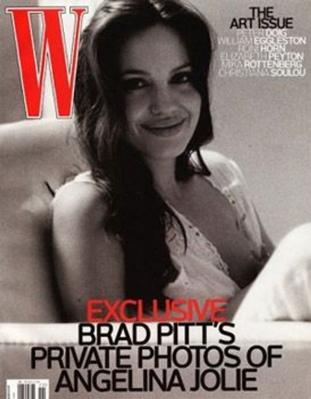 Brad Pitt dévoile Angelina Jolie