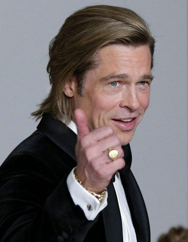 Brad Pitt en couple : sa compagne Nicole Poturalski est mariée !