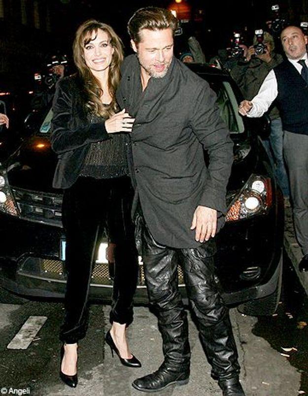 Brad Pitt et Angelina Jolie à l'avant-première de « Megamind »