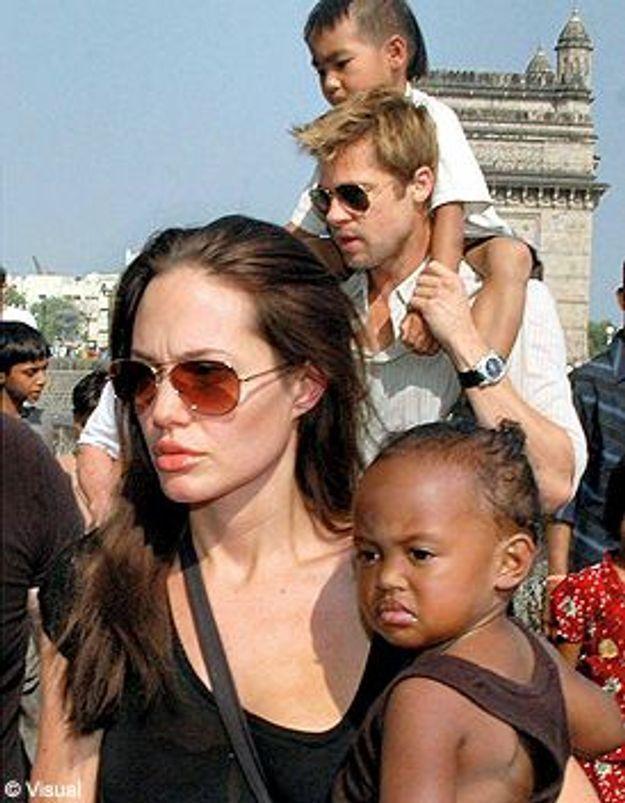 Brad Pitt et Angelina Jolie : un don pour l'Éthiopie