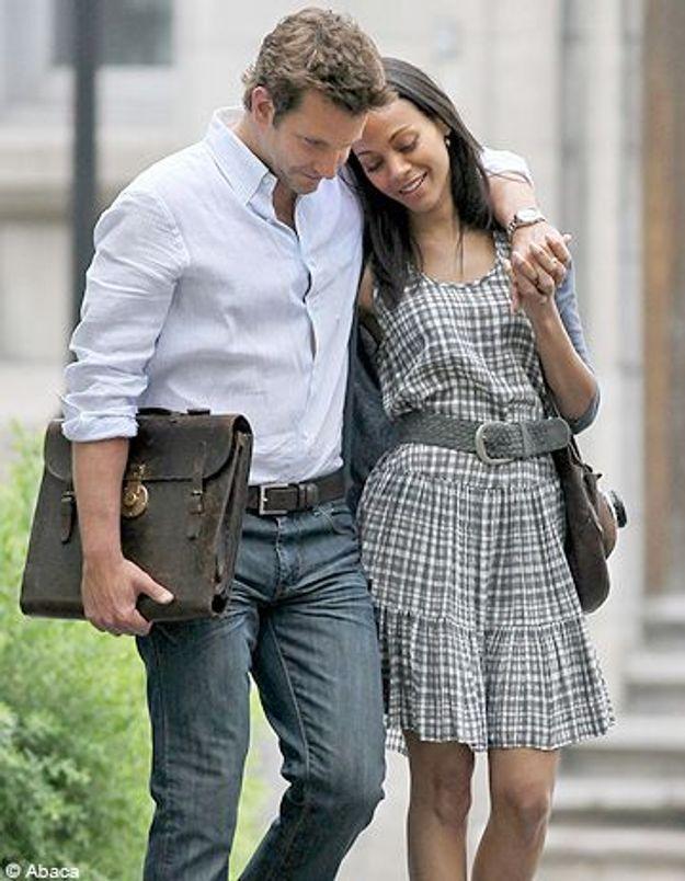 Bradley Cooper et Zoë Saldana: c'est fini!