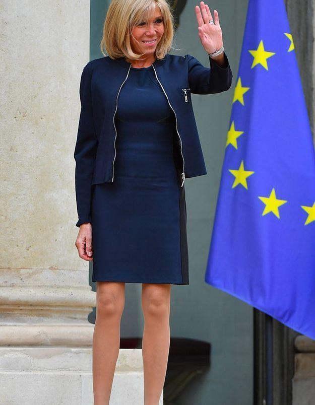 Brigitte Macron : découvrez le secret tout simple de sa ligne