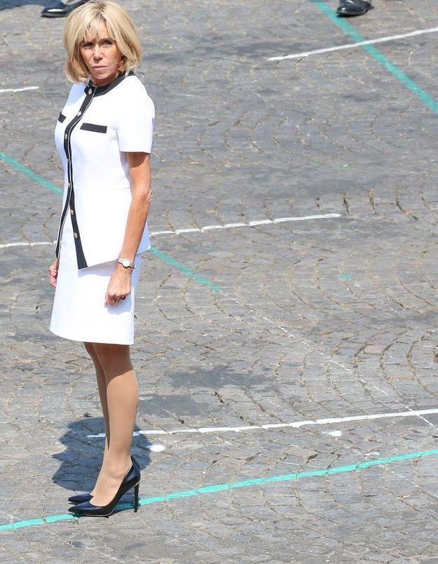 Brigitte Macron, toujours très élégante