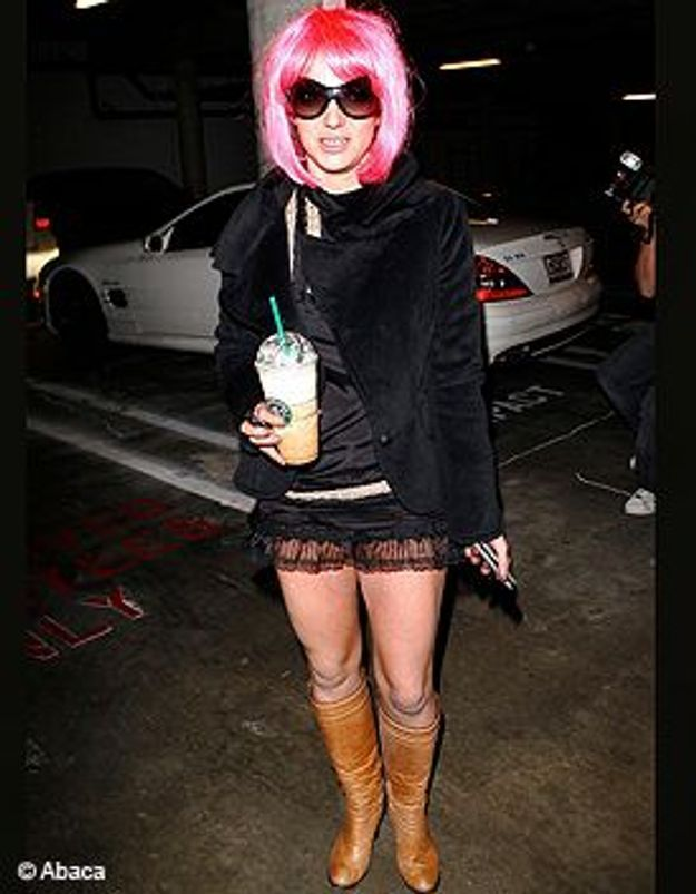Britney Spears remporte le fashion faux pas 2007