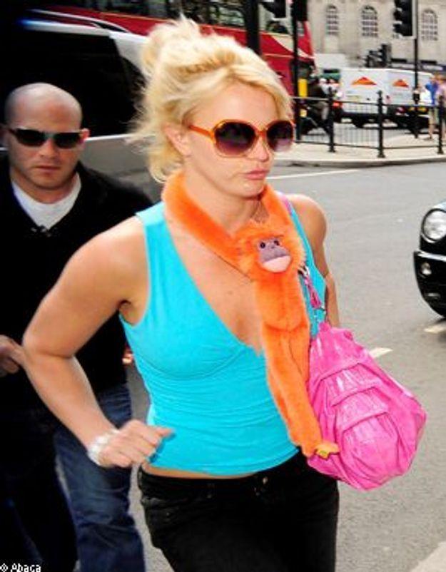 Britney Spears, une maman comme les autres au zoo