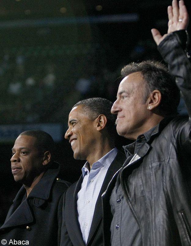 Bruce Springsteen tacle Obama pour mieux le soutenir