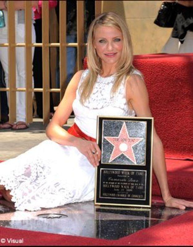 Cameron Diaz : une étoile sur Hollywood Boulevard !