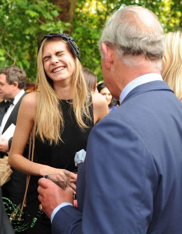 Cara Delevingne et le prince Charles : une rencontre hilarante