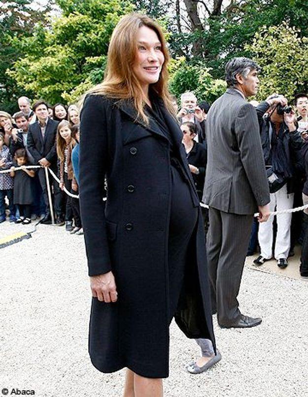Carla Bruni : accouchement imminent !