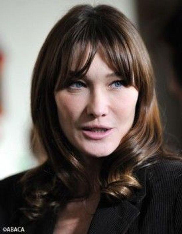 Carla Bruni explique son absence au Festival de Cannes