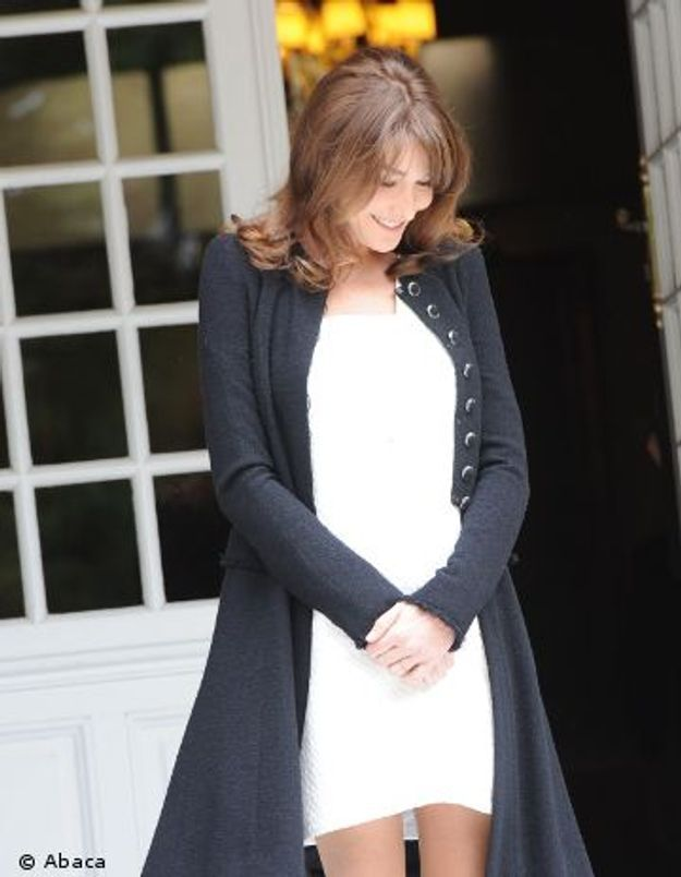 Carla Bruni-Sarkozy attendrait bien un garçon !