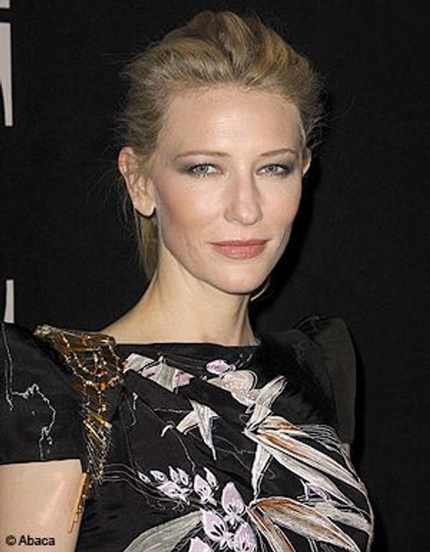 Cate Blanchett, blessée à la tête sur scène