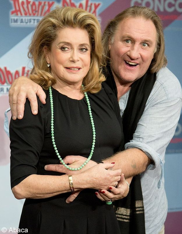 Catherine Deneuve défend Depardieu, « l'acteur immense »