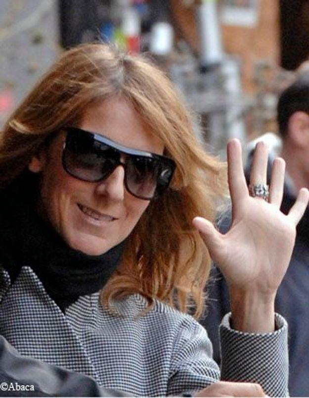 Céline Dion heureuse maman de jumeaux