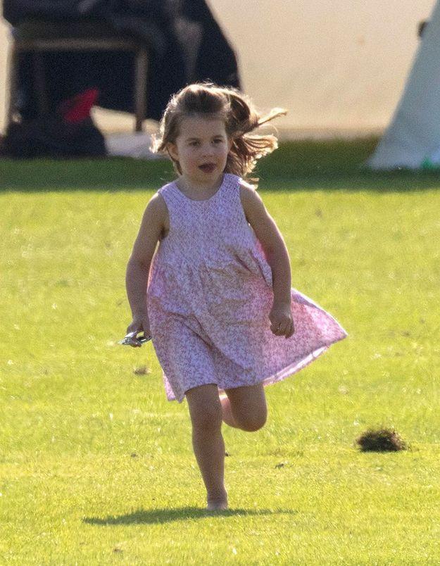 Charlotte préfère courir !