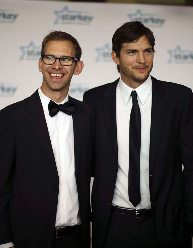 Ashton et Michael Kutcher