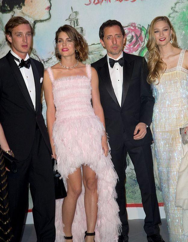 Pierre et Charlotte Casiraghi, Gad Elmaleh et Beatrice Borromeo