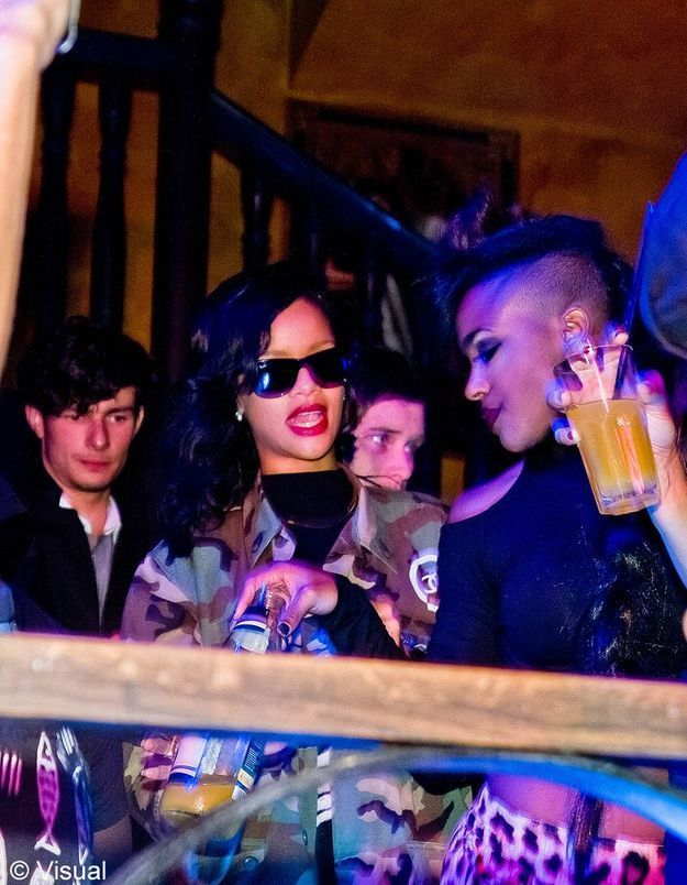 Chris Brown et Rihanna passent Thanksgiving ensemble