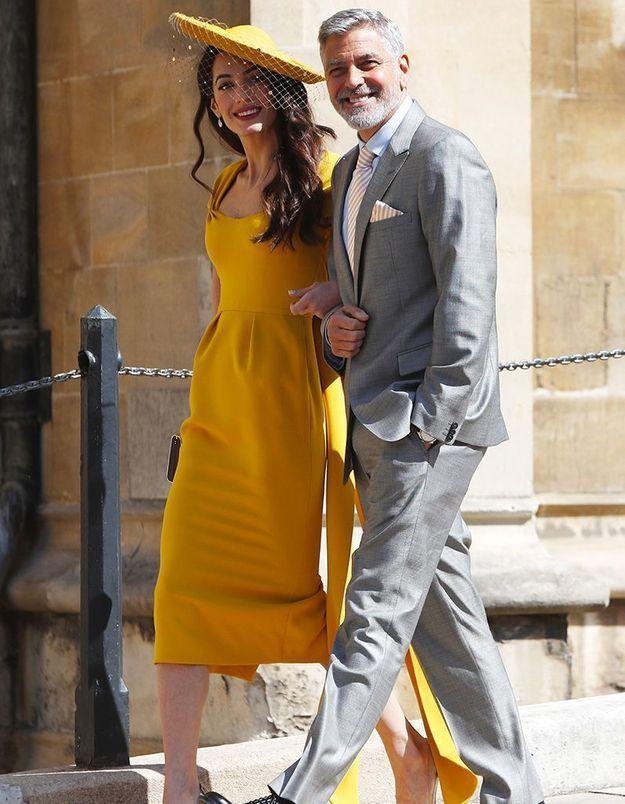 Cindy Crawford et George Clooney ensemble au mariage de la princesse Eugenie ?
