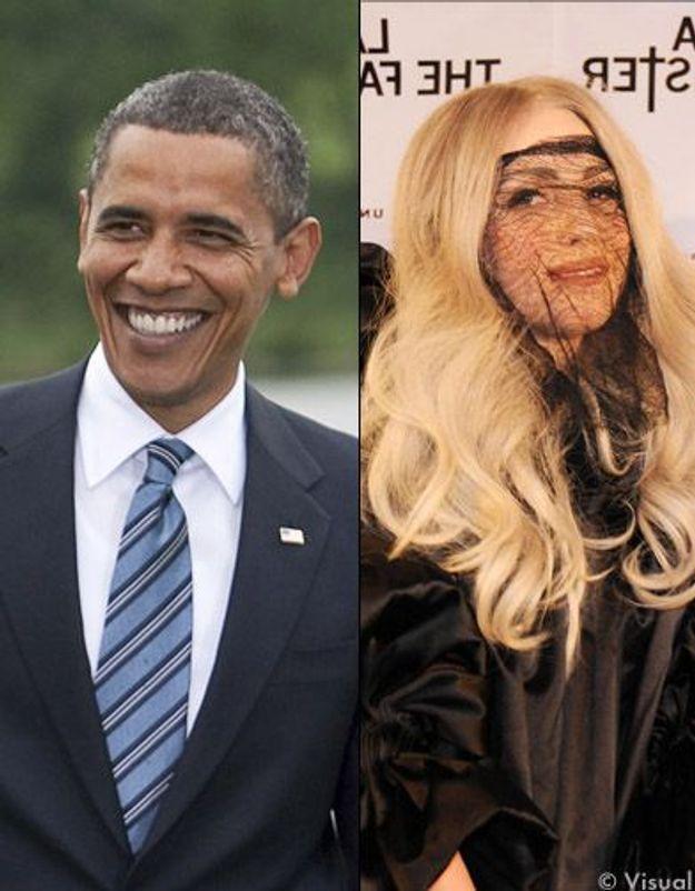 Combat de fans : Lady Gaga plus forte qu'Obama !