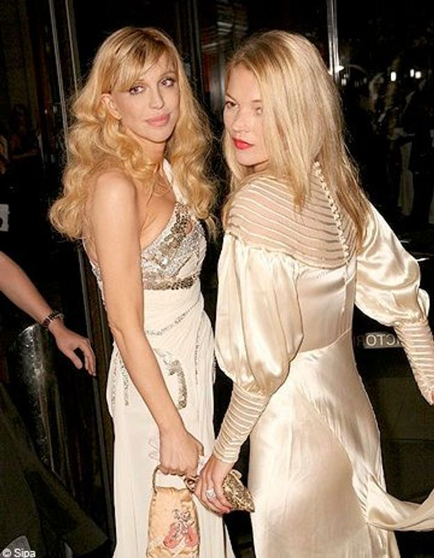 Courtney Love et Kate Moss ont-elle eu une love story ?