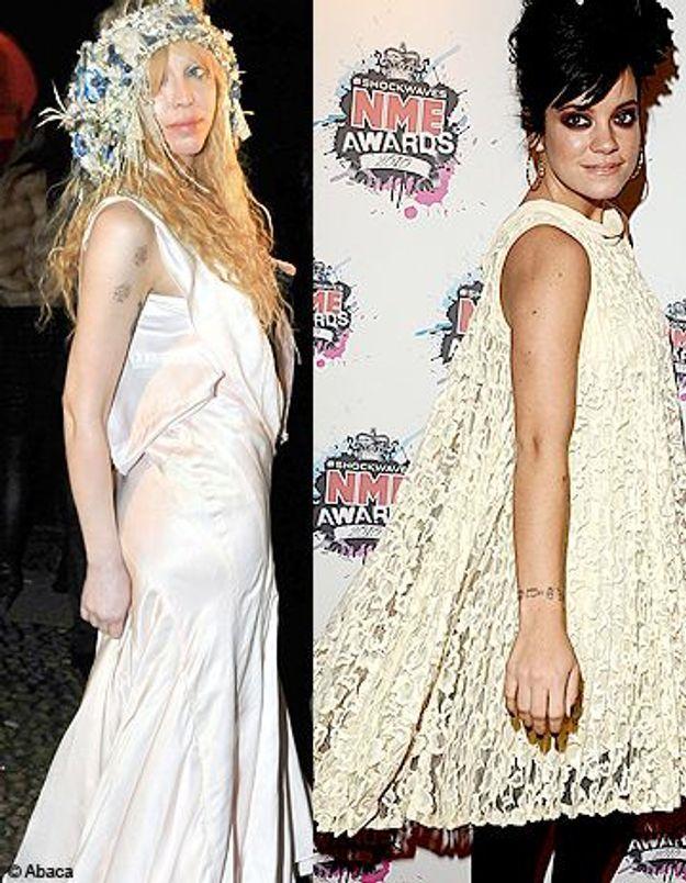 Courtney Love et Lily Allen se crêpent le chignon
