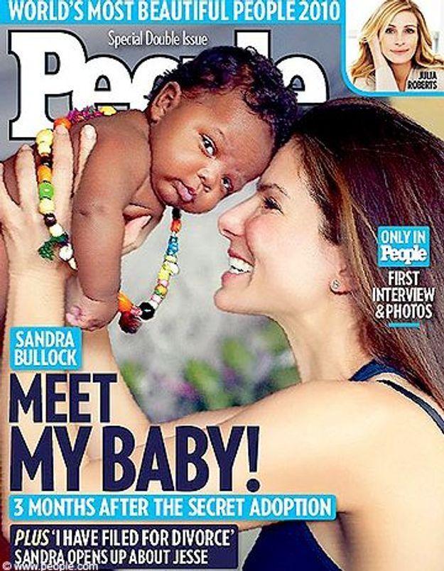 Dans le plus grand secret, Sandra Bullock a adopté un garçon
