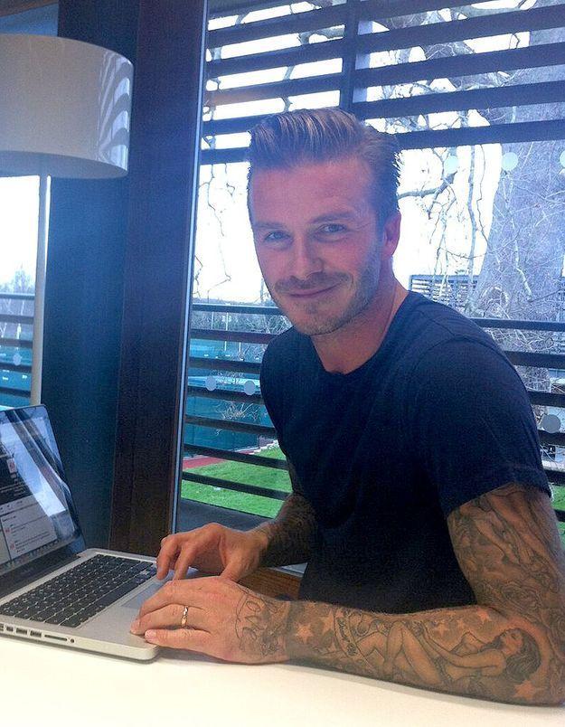 David Beckham : « Mon film préféré est Ratatouille »