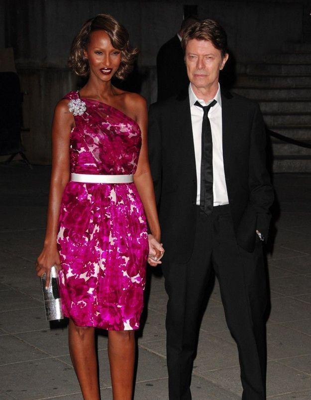 David Bowie : sa veuve Iman poste un magnifique cliché de leur amour