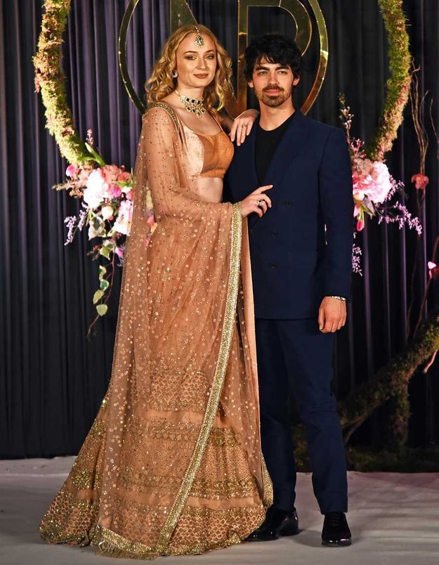 Joe Jonas, le frère de Nick, et sa fiancée Sophie Turner, de Game of Thrones