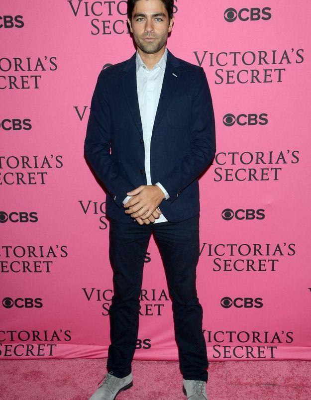 Adrien Grenier au défilé Victoria's Secret 2015