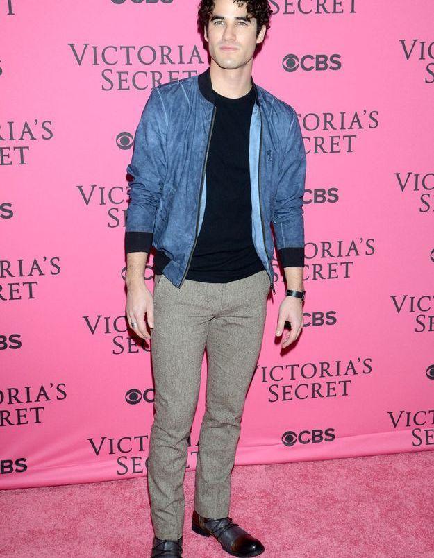 Darren Criss au défilé Victoria's Secret 2015