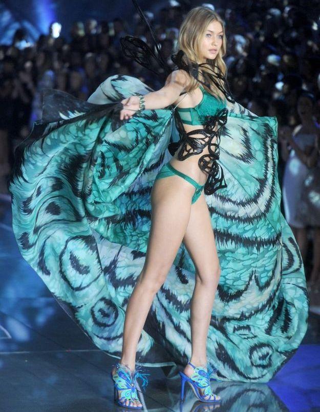 Gigi Hadid au défilé Victoria's Secret 2015