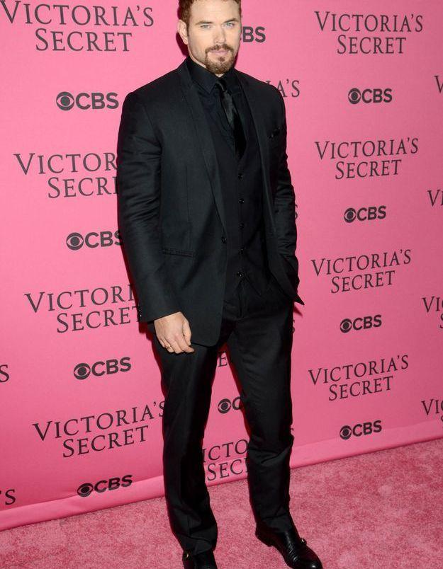 Kellan Lutz au défilé Victoria's Secret 2015