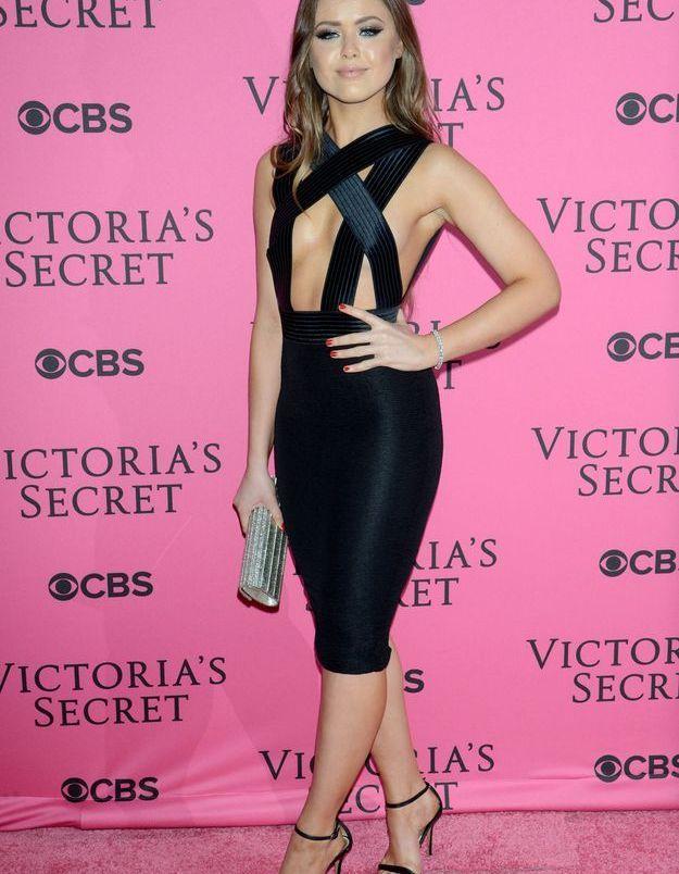 Kristina Bazan au défilé Victoria's Secret 2015
