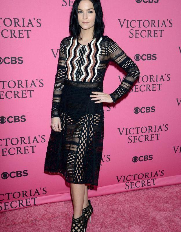 Leigh Lezark au défilé Victoria's Secret 2015