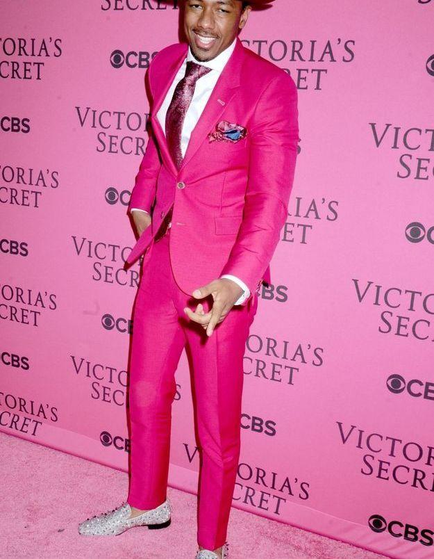 Nick Cannon au défilé Victoria's Secret 2015