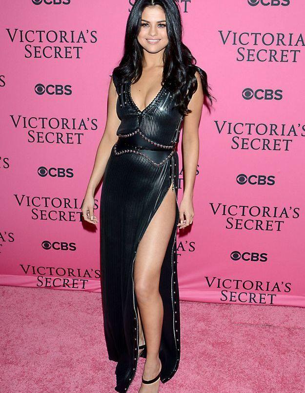 Selena Gomez au défilé Victoria's Secret 2015