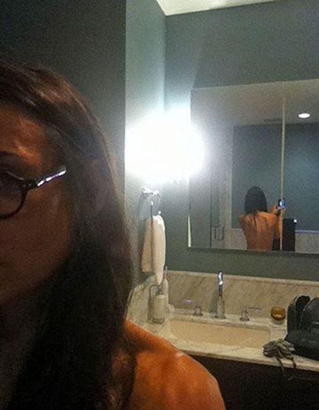 Demi Moore poste une photo d'elle nue sur Twitter