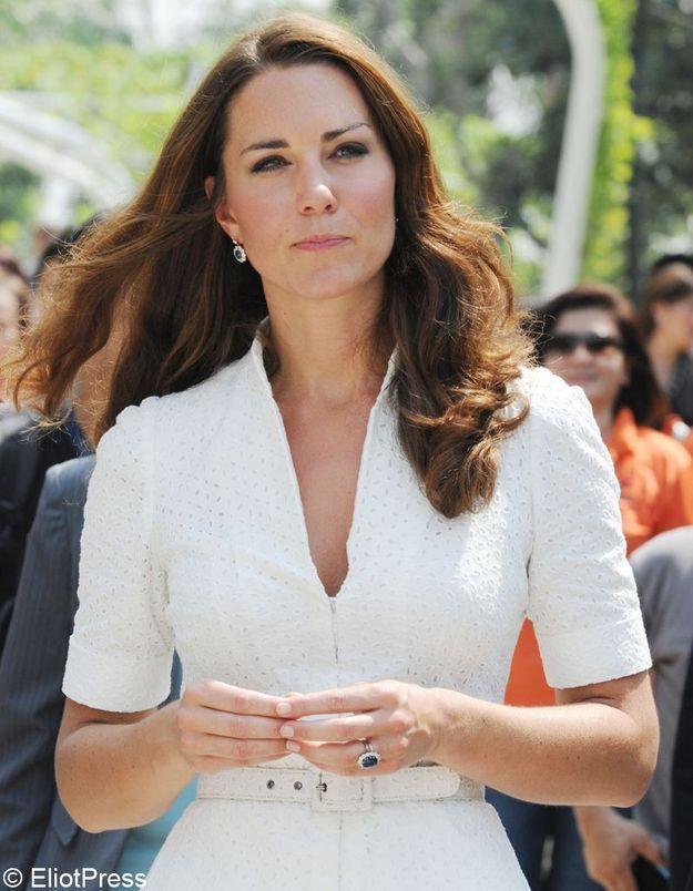 Des photos de Kate Middleton topless  dans la presse française