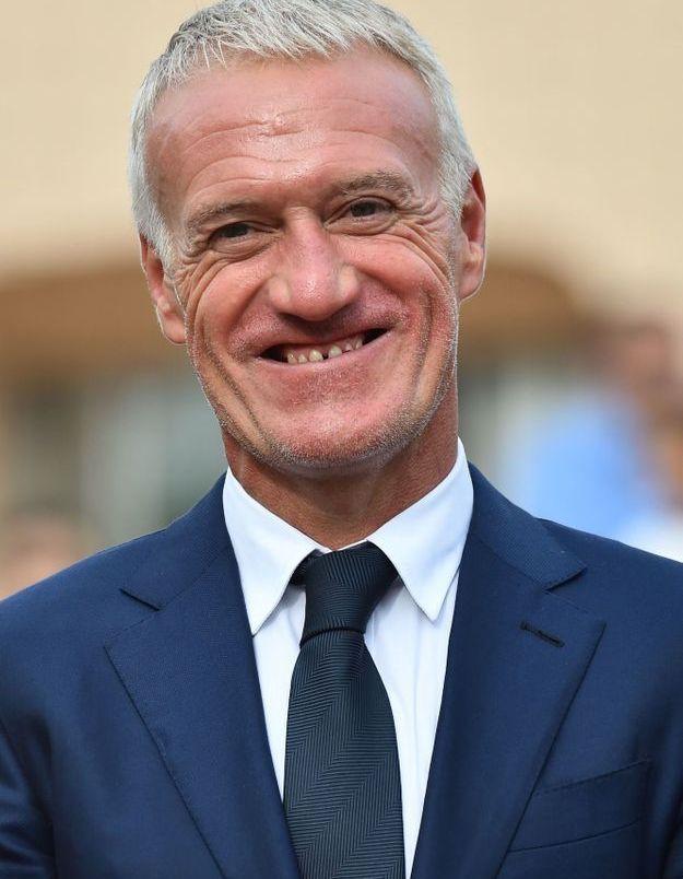 Didier Deschamps souriant