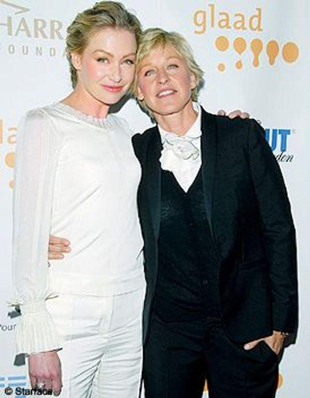 Ellen Degeneres et Portia de Rossi mariées !