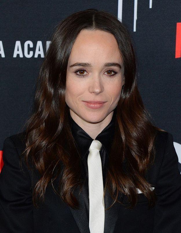 Ellen Page pose nue avec sa femme pour célébrer le mois des fiertés