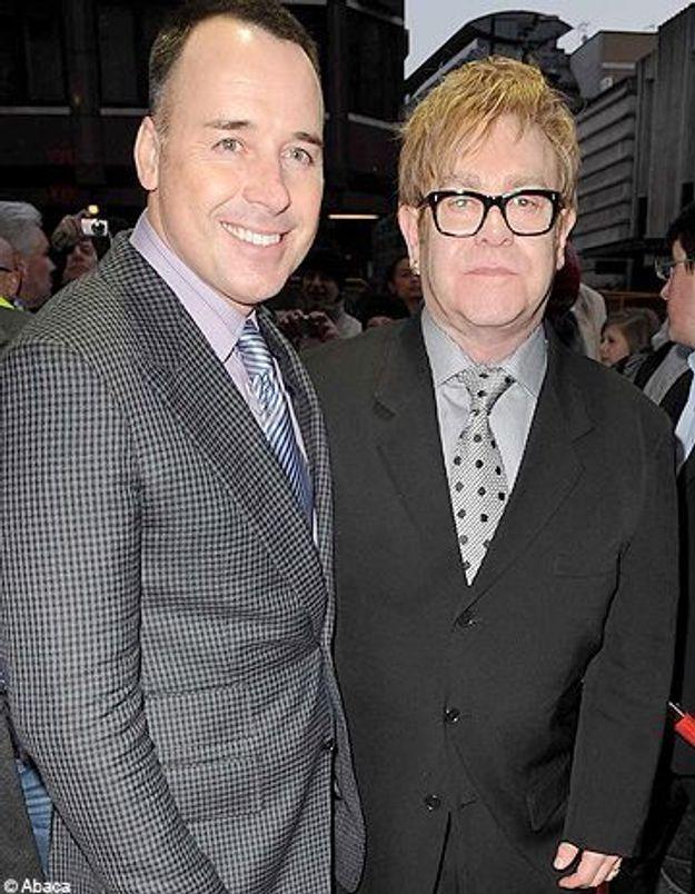 Elton John et son compagnon David Furnish sont papas !