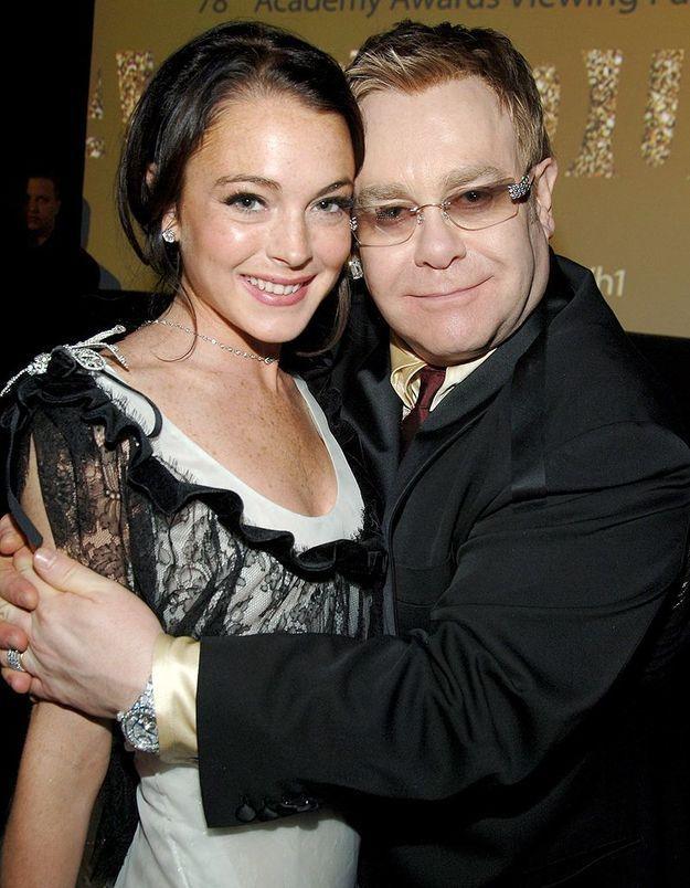 Elton John tacle Lindsay Lohan et s'inquiète pour Lady Gaga